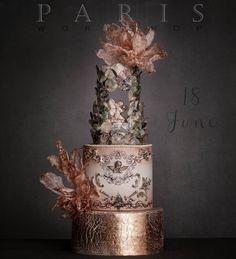 6 Wedding Cake Trends in 2020 Amazing Wedding Cakes, Unique Wedding Cakes, Unique Cakes, Elegant Cakes, Wedding Cake Designs, Creative Cakes, Amazing Cakes, Gorgeous Cakes, Pretty Cakes