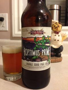 Hoptimus Prime Double IPA by Ruckus Brewing Company by 9.0%