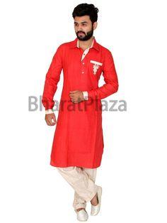Linen Pathani Suit Item code: SKB1011P http://www.bharatplaza.com/new-arrivals/kurta-pyjamas.html