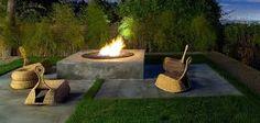 Ikea Rattan Bestseller für In- und Outdoor - Modell Gullholmen Contemporary Outdoor Furniture, Outdoor Wicker Furniture, Garden Furniture, Wicker Chairs, Furniture Ideas, Concrete Patios, Modern Outdoor Rocking Chairs, Outdoor Chairs, Modern Patio