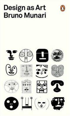 'Design as Art' by Bruno Munari. Cover design by Bruno Munari Buch Design, Design Art, Logo Design, Modern Design, Free Design, Happy Design, Design Graphique, Art Graphique, Penguin Modern Classics