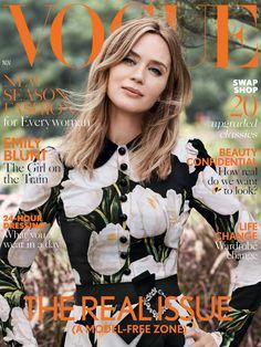 Emily Blunt, photographed by Josh Olins for Vogue UK, Nov 2016.