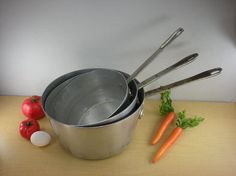 Duraware NSF Commercial Cookware Aluminum Pot Pan by oldetymestore, $39.00