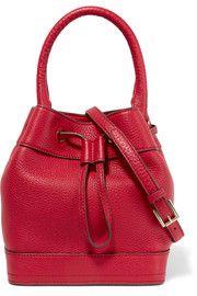 Tory BurchRobinson textured-leather shoulder bag