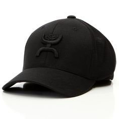 fa203be222a HOOey hats available at Billy s Western Wear! Style 1403B Black cool  amp   dry fabric