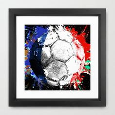 football France Framed Art Print by seb mcnulty - $32.00