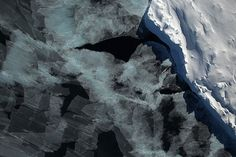 ■ Sea ice in the Bellingshausen Sea seen by the Digital Mapping System instrument during the 2014 Antarctic campaign of Operation IceBridge. Credit: NASA / DMS Team. View larger image.