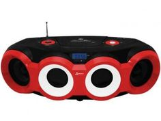 Som Portátil USB MP3 CD FM Boombox BD 1420 - 60W com Controle Remoto - Lenoxx