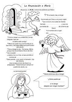 El Rincón de las Melli: EL EVANGELIO PARA COMPLETAR (La Infancia de Jesús)...