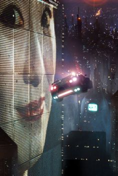 The screenshot is from Blade Runner and since Blade Runner is considered a cyberpunk classic movie, so felt it wss appropriate to use it for inspiration. Film Blade Runner, Blade Runner 2049, Blade Runner City, Tv Movie, Sci Fi Movies, Fiction Movies, Indie Movies, Comedy Movies, Cyberpunk Aesthetic