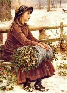 The Holly Gatherer and the Robin!