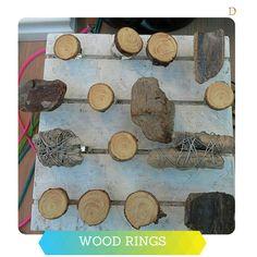 DIY #Wood RINGS!  #doridesign #reuse #recycle #art #creativity #design #diy