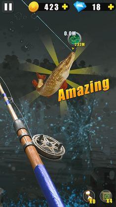 لعبة الصيد البري Wild Fishing مهكرة للاندرويد احدث اصدار 4.1.0 [مشتريات مجانية] Apps, App, Appliques