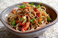Use your (whole-grain) noodle, and dress lightly