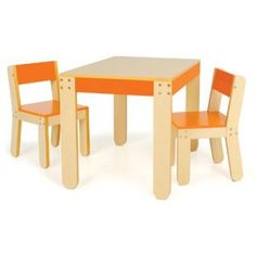 children's activity table and chair set