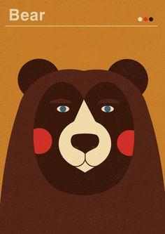 bear | poster for kids