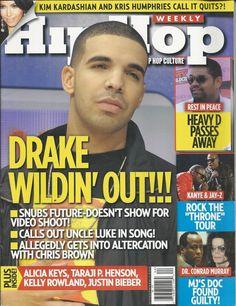 Hip Hop Weekly magazine Drake Heavy D Kanye Jay-Z Throne tour Michael Jackson