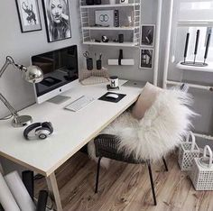home office ideas to brighten up your work from home! - home office ideas to brighten up your work from home! home office ideas to brighten up your work from home! Home Office Design, Home Office Decor, House Design, Home Decor, Office Ideas, Office Decorations, Office Inspo, Office Designs, Office Chic