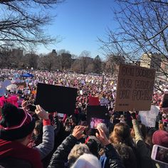 Amazed by the crowd at #womensmarchboston . The work continues. #womensmarch @womensmarch