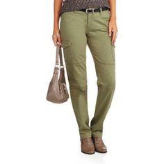 Women's Brigade Straight Leg Cargo Pant, Size: 6, Green
