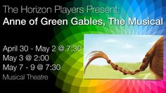 Anne of Green Gables, The Musical Anne Shirley, Anne Of Green Gables, Orphan, Musical Theatre, Musicals, Stage, Fans, Seasons, Classic