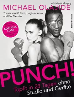 """#Punch! - Der frühere #Mittelgewichts-#Boxchampion #Michael #Olajide trainiert viele #Hollywood-#Stars und einige der berühmten """"#Victoria's #Secret""""-#Engel. Er ist #Erfinder und #Entwickler verschiedener revolutionärer #Workouts. In diese fließen die Erkenntnisse aus dem #Profiboxen ein. Sind Sie neugierig auf das #Workout, mit dem sich die #schönsten #Frauen der #Welt genauso in #Form bringen, wie diverse #Hollywood-#Größen?"""