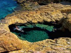 Devil's Eye, Koufonisia, Greece