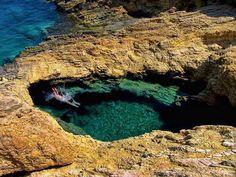 Devil's Eye, Koufonisia, Greece