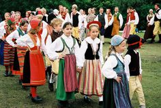 Swedish Midsommers by imake, via Flickr #swedish #traditions