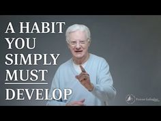 A Habit You Simply MUST Develop - YouTube