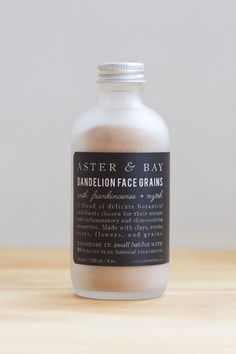 Draw toxins, soothe inflammation, eliminate blemishes, and brighten dark spots with a blend of dandelion, oats, rice, and wild-harvested herbs. This magical mixture can be used to cleanse skin and exfoliate — and can be blended with oils, fruit juice, yogurt, or warm herbal tea to create a custom face masque.
