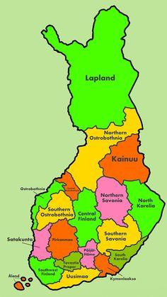 Finland Regions