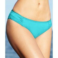 434f3b66b16c5 Tommy Bahama Ruched Side Baia Blue Hipster Bottoms Swimwear Size Medium NWT   46  TommyBahama