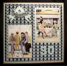 Sue's Craft Haven: Happy 30th Birthday!!!