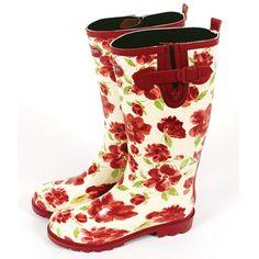 Laura Ashley cute rain boots