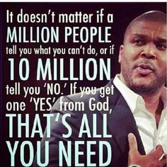 """Good morning #BeautifulWorld #SexyWorld! Happy Saturday!   When Jesus says yes, nobody can say no. One """"YES"""" from God That's all you need!  Have an amazing blessed day!"""