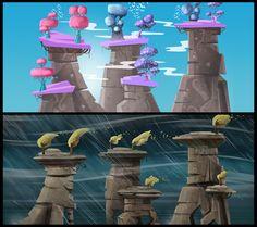Random game-art on Behance