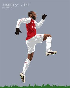 Arsenal, London N5. Henry, London 14