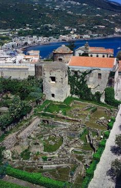 Archaeological Park of Lipari, Aeolian Islands (Unesco World Heritage List, 2000), Sicily, Italy