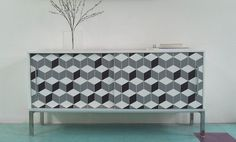Custom PANYL Cuboids: The New 3D Finish for Your Home Furnishings | PANYL self-adhesive furniture finishes