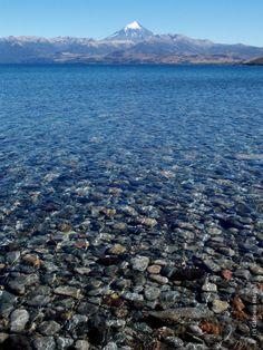 Lago Huechulafquen - Volcán Lanín - Gabriela Margall
