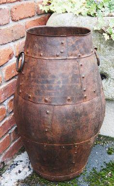 """Alibaba"" Cast Iron barrel urn - Garden Urns - Garden Planters & Accessories - Garden & Outdoor Living - Catalogue    Black Country Metal Works"