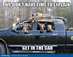 .. man-tied-truck-we-dont-have-time-to-explain-get-in-the-car-funny-meme