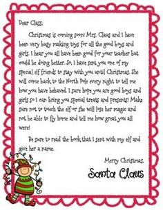 Excellent Absolutely Free Elf on the Shelf (Boy and Girl) Introduction Letter (FREE!) – Elf On The Self Thoughts Elf on the Shelf (Boy and Girl) Introduction Letter (FREE!) : elf on the shelf Your young ones love Introduction Letter, Teacher Introduction, Letter F, Letter Sample, Santa Letter, Islamic Society, Self Thought, Elf On The Self, Christmas Preparation