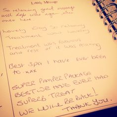 Some lovely feedback from our clients