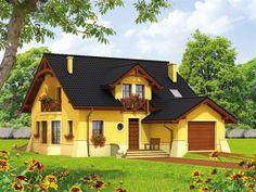 Wizualizacja AC Radosław CE Tiny House Design, Home Fashion, House Plans, Cabin, How To Plan, House Styles, Houses, Home Decor, Ideas