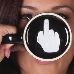 Have a Nice Day - Have A Nice Day Middle Finger Coffee Mug.