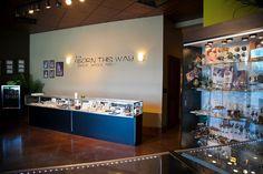 Oooo la la look at the lobby at [Born This Way Body Arts - Knoxville, TN]!