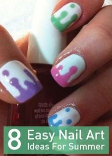 Repinned:  You'll love all these fun summertime manicures. Click to try them all!