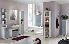 Unterschrank in Weiß und Hellblau online bestellen Natural Home Decor, Easy Home Decor, Cheap Home Decor, French Home Decor, Indian Home Decor, Bathroom Shelves, Wall Shelves, Table Color, Small Guest Rooms
